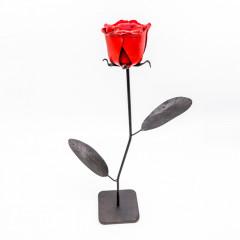 Rose aus Stahl